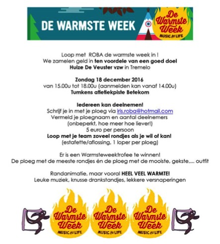 recreanten warmste week